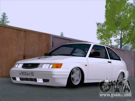 LADA 2112 low clearance for GTA San Andreas left view