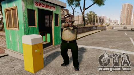 Police guards for GTA 4 second screenshot