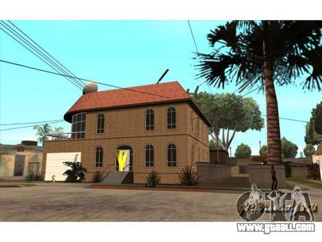 New CJ House for GTA San Andreas