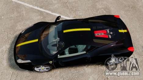 Ferrari 458 Italia 2010 Wheelsandmore 2013 for GTA 4 inner view
