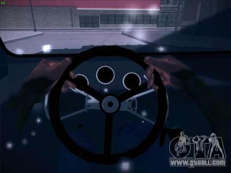 Seaz-3D for GTA San Andreas bottom view