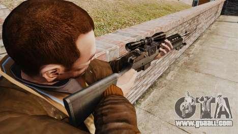 M21 sniper rifle v2 for GTA 4 second screenshot