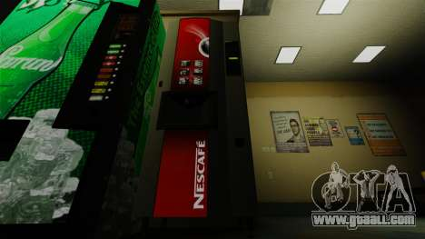 The Office vending machine Nescafe for GTA 4 second screenshot