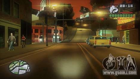 GTA HD Mod for GTA San Andreas forth screenshot