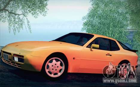 Porsche 944 Turbo Coupe 1985 for GTA San Andreas back view