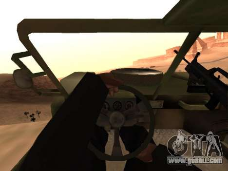 FAV from Battlefield 2 for GTA San Andreas right view