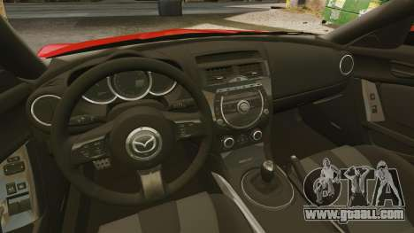 Mazda RX-8 R3 2011 for GTA 4 inner view