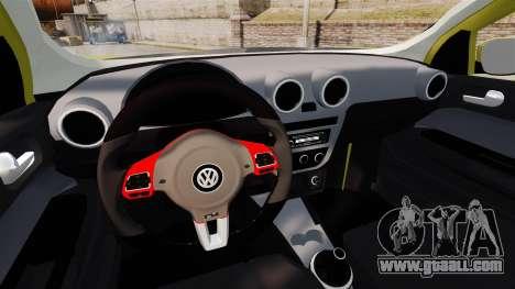 Volkswagen Gol G6 for GTA 4 side view