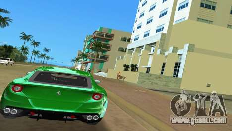 Ferrari FF 2011 for GTA Vice City right view