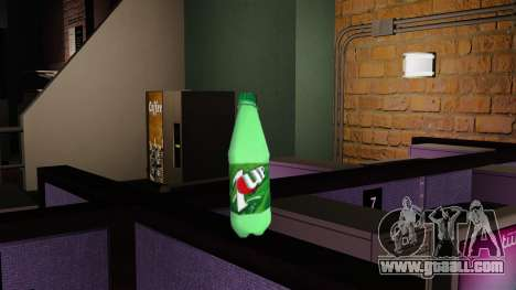 The new bottle of fizzy drink 7UP for GTA 4 second screenshot