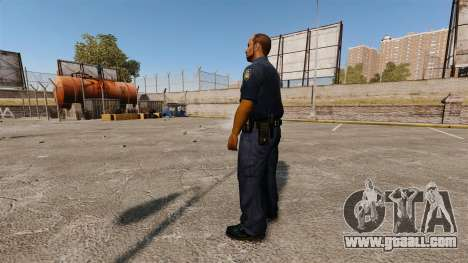 An updated wardrobe for police for GTA 4 second screenshot