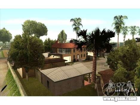 New CJ House for GTA San Andreas third screenshot