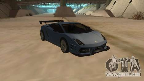 Lamborghini Gallardo LP560-4 Tuned for GTA San Andreas back view