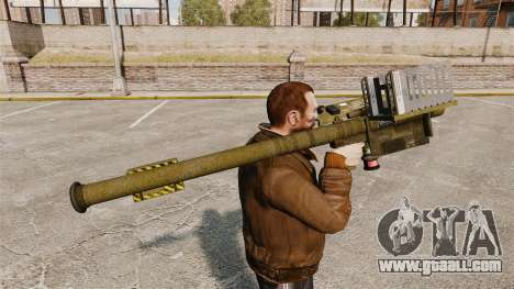 FIM-92 Stinger MANPADS for GTA 4