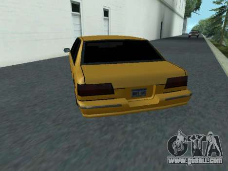 Premier for GTA San Andreas back left view