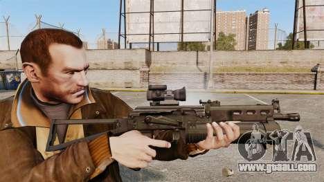 Submachine gun pp-19 Bizon for GTA 4