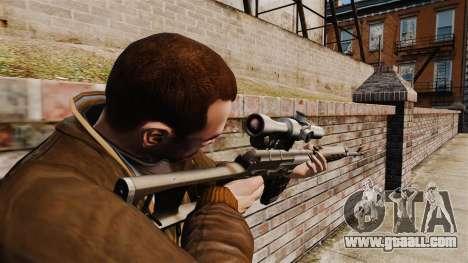 Dragunov sniper rifle v1 for GTA 4 second screenshot