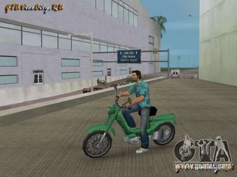 Scooter 103sp for GTA Vice City
