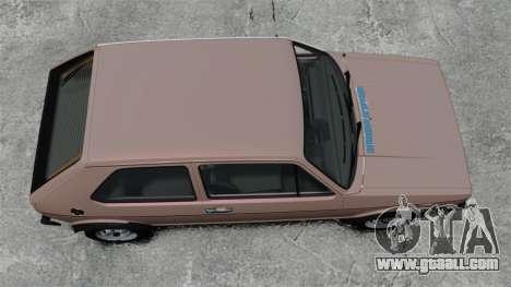Volkswagen Golf MK1 GTI for GTA 4 right view