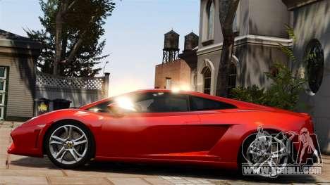 Lamborghini Gallardo LP560-4 [Final] v1 for GTA 4 left view