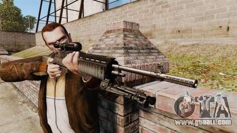 M21 sniper rifle v2 for GTA 4 third screenshot