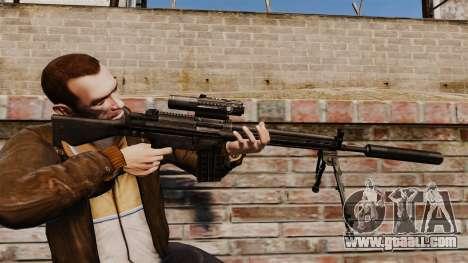 HK G3SG1 sniper rifle v1 for GTA 4