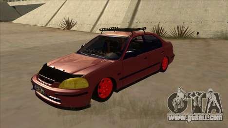Honda Civic V2 BKModifiye for GTA San Andreas
