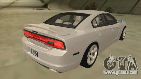 Dodge Charger RT 2011 V2.0 for GTA San Andreas right view