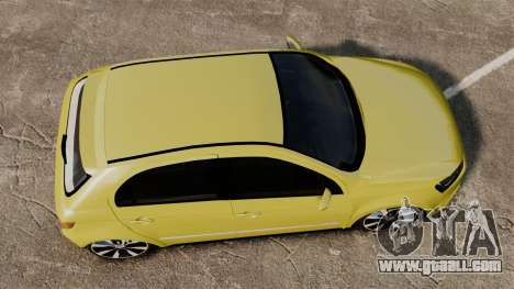 Volkswagen Gol G6 for GTA 4 right view