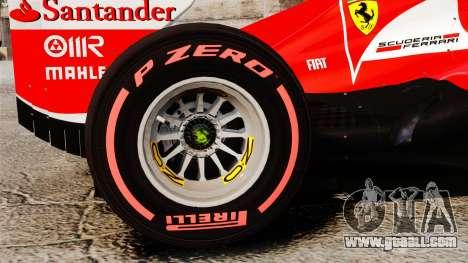 Ferrari F138 2013 v6 for GTA 4 back view