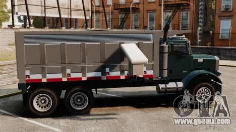 New truck Biff for GTA 4 left view