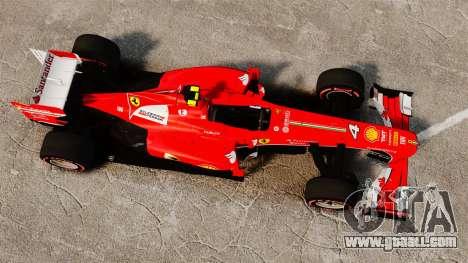 Ferrari F138 2013 v6 for GTA 4 right view