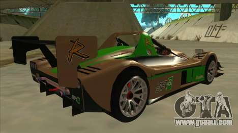 Radical SR8 RX for GTA San Andreas right view
