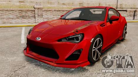 Subaru BRZ Rocket Bunny Aero Kit Hoonigan for GTA 4