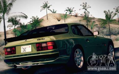 Porsche 944 Turbo Coupe 1985 for GTA San Andreas left view