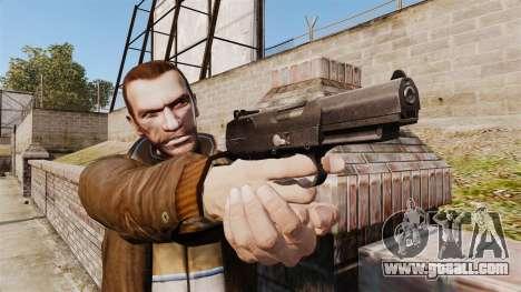 Self-loading pistol FN Five-seveN v2 for GTA 4 third screenshot