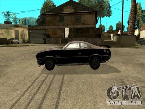 Remington for GTA San Andreas left view