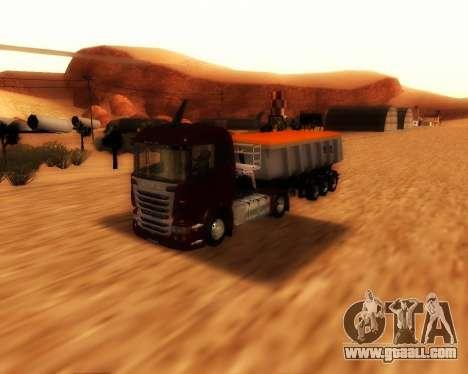 Scania R440 for GTA San Andreas