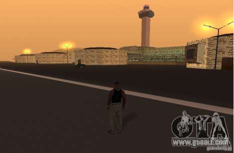 The new airport, Los Santos for GTA San Andreas second screenshot