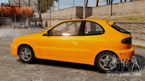 Daewoo Lanos Sport US 2001 for GTA 4 left view