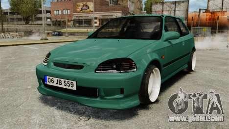 Honda Civic Al Sana for GTA 4