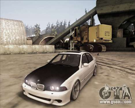 BMW M5 E39 Stanced for GTA San Andreas