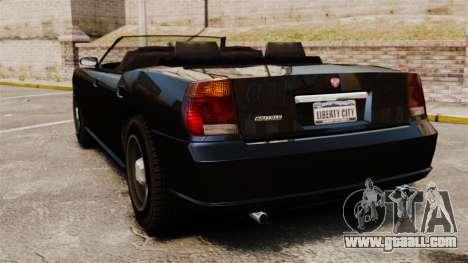Buffalo limousine for GTA 4 back left view