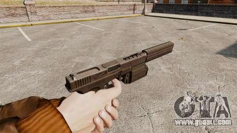 Tactical pistol Glock 18 v2 for GTA 4 second screenshot