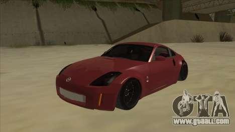 Nissan 350Z JDM for GTA San Andreas