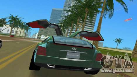 Infiniti Triant for GTA Vice City inner view