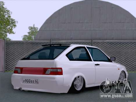 LADA 2112 low clearance for GTA San Andreas back left view