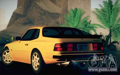 Porsche 944 Turbo Coupe 1985 for GTA San Andreas right view