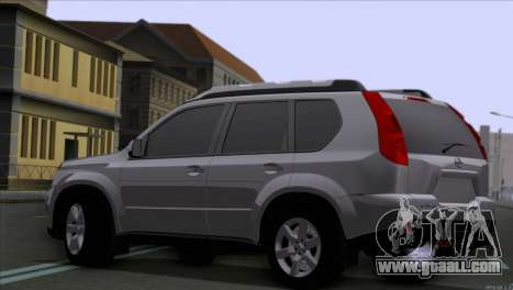 Nissan X-Trail 2007 for GTA San Andreas left view