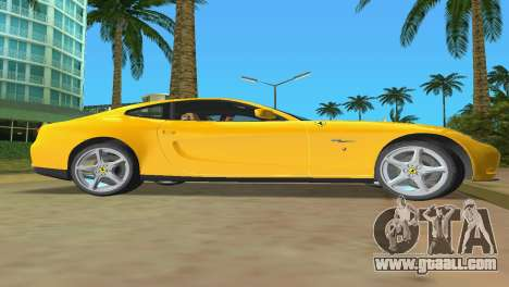 Ferrari 612 Scaglietti 2005 for GTA Vice City inner view